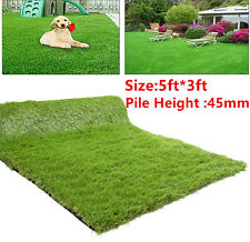 Synthetic Lawn Artificial Fake Grass Mat Astro Turf Landscape Pet Turf Yard,USA
