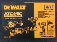 Dewalt Dck489D2 20V 4 Tool Combo Kit W/ 2Ah Lithium Ion Battery Charger
