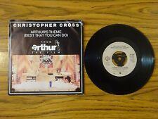 "Christopher Cross - Arthur's Theme (Warner Bros 1981) 7"" Single"