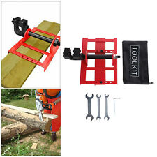 Vertical Chainsaw Mill Steel Wood Lumber Cutting Guide Saw For Woodworking