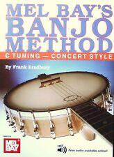 Mel Bay Banjo Method Book for C Tuning Concert Including Free Audio Download