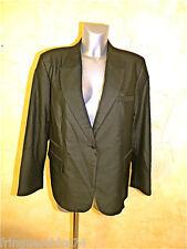 veste bcbg noire satinée MC PLANET taille 46 NEUVE ÉTIQUETTE ** haut de gamme **