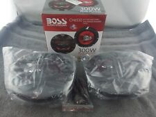 Boss CHAOS EXXTREME ( CH6530 ) 3-Way 6.5in 300W Car Speaker - Red/Black - USED