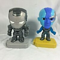 Nebula And War Machine McDonald's Happymeal Marvel Avengers Endgame Toy EUC FS