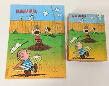 Peanuts Jigsaw Puzzle 63 Piece Vtg 1965 Golden 4718 Charlie Brown Complete