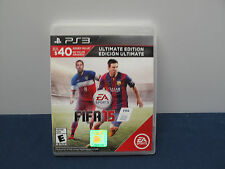 FIFA 15: Ultimate Edition for PS3 Playstation 3 Complete CIB Free Shipp