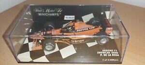 Minichamps Pedro De La Rosa Arrows Showcar 2000 1/43