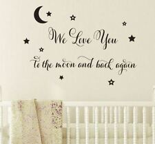 Children's Bedroom Removable Medium Wall Stickers