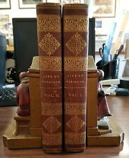 Life of Napoleon by Sir Walter Scott 1st US Edition 1827 Complete in 2 Vols