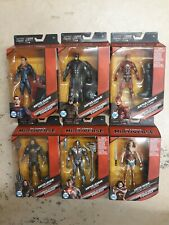 DC Multiverse Justice League Complete Set of 6 Figures & Steppenwolf BAF New NIP
