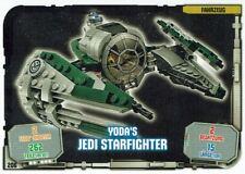 Lego Star Wars™ Série 1 Cartes à Échanger 206 - Véhicule Yoda `S Starfighter