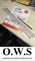 5 x Aluminium Welding Brazing + Soldering Low Temp Durafix Easyweld  Rods+Brush