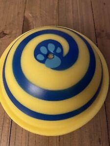 JML Woof Glider Dog Toy Squeak Soft Safe Indoor Disc Fun Floor Carpet