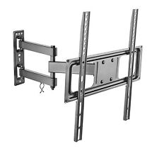 Full Motion TV Wall Mount Swivel Bracket for LED LCD TV's 40 46 50 55 60 65 70""