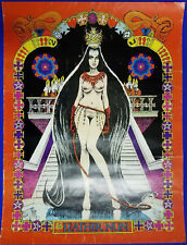 THE LEATHER NUN POSTER - Dave Sheridan  - Underground Comic Art  - SCARCE! 1971