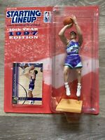 1997 JOHN STOCKTON STARTING LINEUP SLU NBA UPPER DECK UTAH JAZZ BASKETBALL