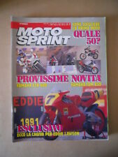 MOTOSPRINT n°7 1991  TEST  YAMAHA FZR 600 YAMAHA TDM 850  [MS9]