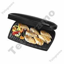 New George Foreman 23443 10 Portion Family Grill Entertaining 2400W Black