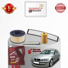 KIT TAGLIANDO FILTRI E OLIO BMW SERIE 3 E46 318 i 105KW 143CV 2002 ->