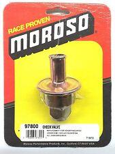 MOROSO 97800 Check Valve-Replacement Crank case Evacuation Valve-25900 Drag Race