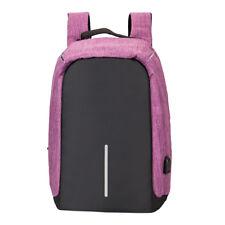Sac à dos Backpack USB Port Charge Laptop Ordinateur Portable Homme/femme