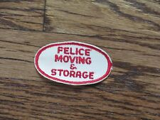 trucking patch,felice moving and storage,watertown,ny, patch, nos,60's,set of 2