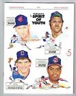 1991 Cleveland Indians MLB Baseball YEARBOOK