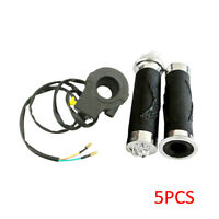 Handlebar Grip Set/&Throttle Cable Spark Plug For 66cc 80cc Motorized Bicycle New