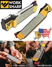 Work Sharp Guided Field Sharpener For Knives Fish Hooks Blades New Free Shipping