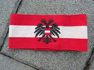 TOP Österreich Ständestaat Armband Arm-Schleiffe Adler Heimwehr 1934-1938
