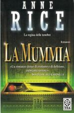 La Mummia by Anne Rice Paperback The Queen of Darkness, The Mummy in Italian