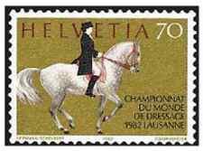 Timbre Chevaux Suisse 1163 ** lot 18400