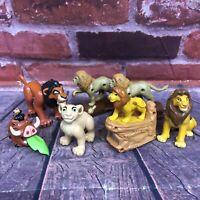 Disney The Lion King PVC Plastic Toys Burger King McDonald's Simba Nala Scar