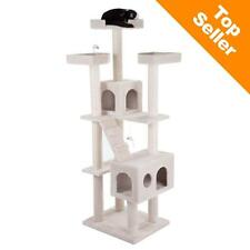 RAPUNZEL Cat Tree Playing SCRATCHING Climbing Sisal Covered Den Stairs Toy Play