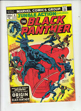 Jungle Action #8 (Marvel 1973)  Origin of the Black Panther!  VF/NM