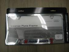 Audi Sport License Plate Frame **Polished** ZAW355030