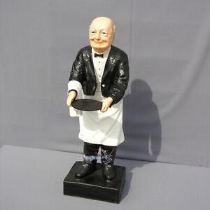 Haus Butler Butlerfigur Figur Antik Deko odl man Opa Stummer Diener Dekoration