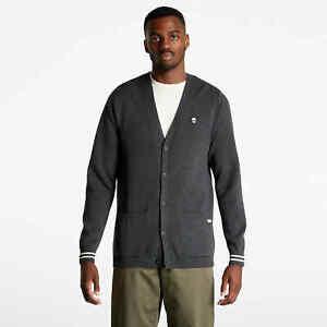 Vans Anaheim Needlepoint Skull Sweater Men's Grey Cardigan Casual Top