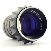 Voigtlander Talon 1: 2.8 / 100 - lens from the Voigtlander Zettomat projector