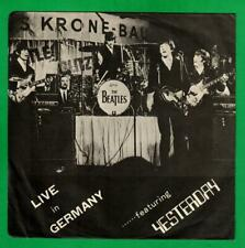 The Beatles EP Live In Germany 1966 W/Picture sleeve MARC TB-75112