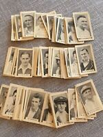 1932-33 Godfrey Phillips Australia Test Cricketers Card Lot (90) **  Don Bradman