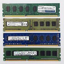 DDR3 Desktop PC RAM - 4GB / 8GB - 1333 / 1600MHz - Memory DIMM 240pin PC3 12800