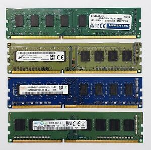 DDR3 Desktop PC RAM - 4GB / 8GB - 1333 / 1600MHz - Memory DIMM 240pin PC3 12800
