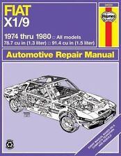 Fiat X1/9, 1974-80 (Haynes Manuals)-ExLibrary