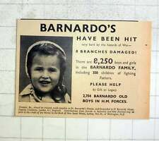 1940 Eight Branches Of Barnardos Damaged By Air Raids