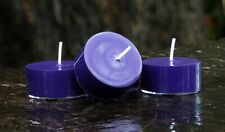 10pk 120hr/pack Purple POISON PASSION NATURAL ECO SOY TEA LIGHT CANDLES Gift Box