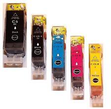 5 Tinte für Canon PIXMA IP4200 IP4300 IP4500 IP5200R IP5300 MP600 MP800 mit Chip