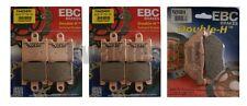 Yamaha FJR1300 3p6 / 2d2 2006-2009 Set EBC Delantero Y TRASERO SINTERIZADAS HH