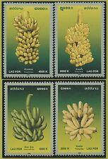 LAOS N°1634/1637** Fruits : bananes, 2006 Bananas Sc#1701-1704 MNH