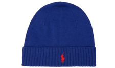 a59bdc6197b02 Polo Ralph Lauren Pony Blue Beanie Hat - Brand New With Tags
